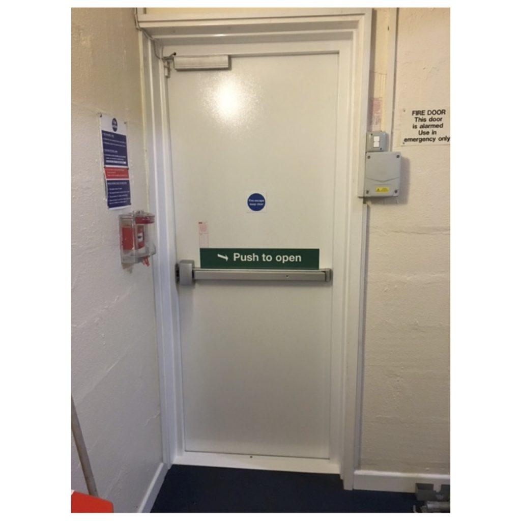 Fire Exit Door  sc 1 st  Harpers Doors Specialists & Fire Exit Door | Harpers Doors Specialists