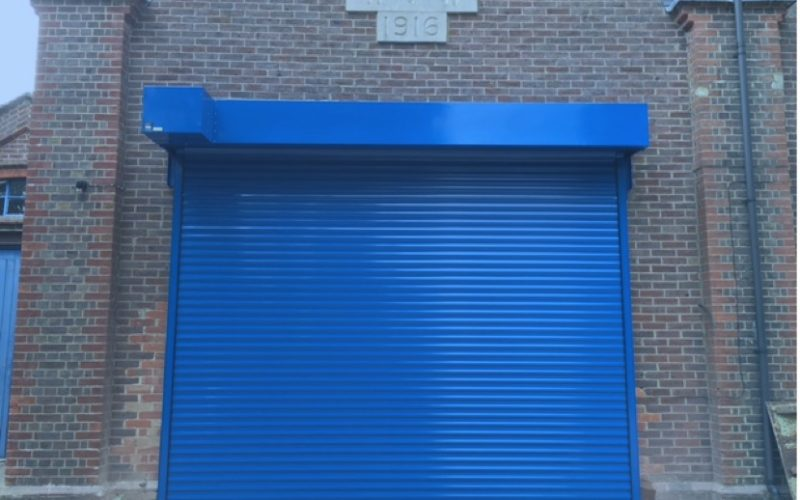 Insulated Industrial Roller Shutter