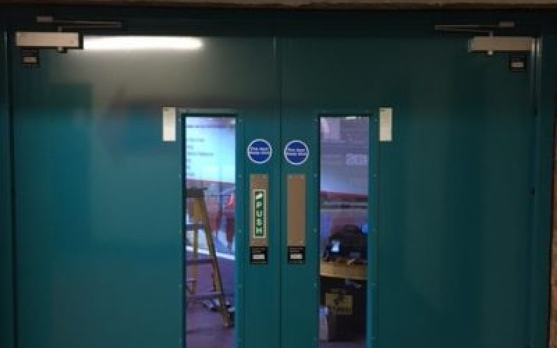 Double Internal 2 Hour fire door set