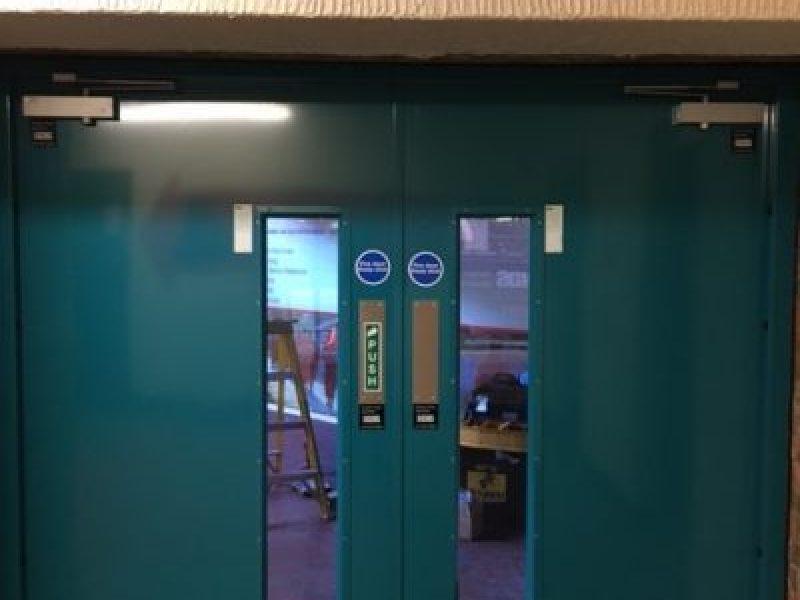 Double Internal 2 Hour fire door set