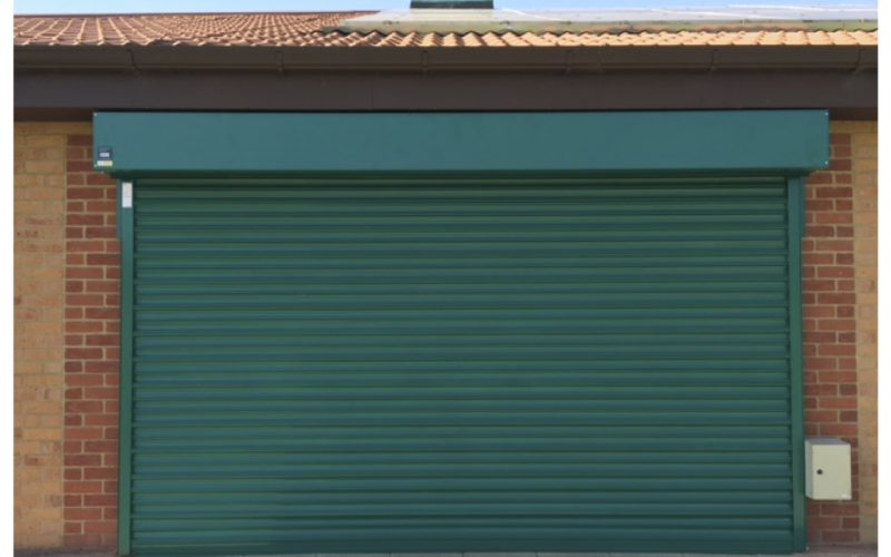 Powder Coated Roller Shutter