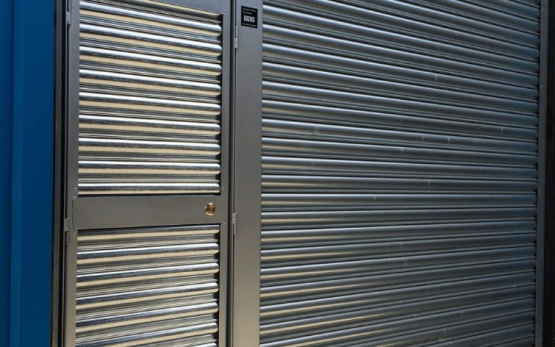 Roller Shutter with Wicket Door