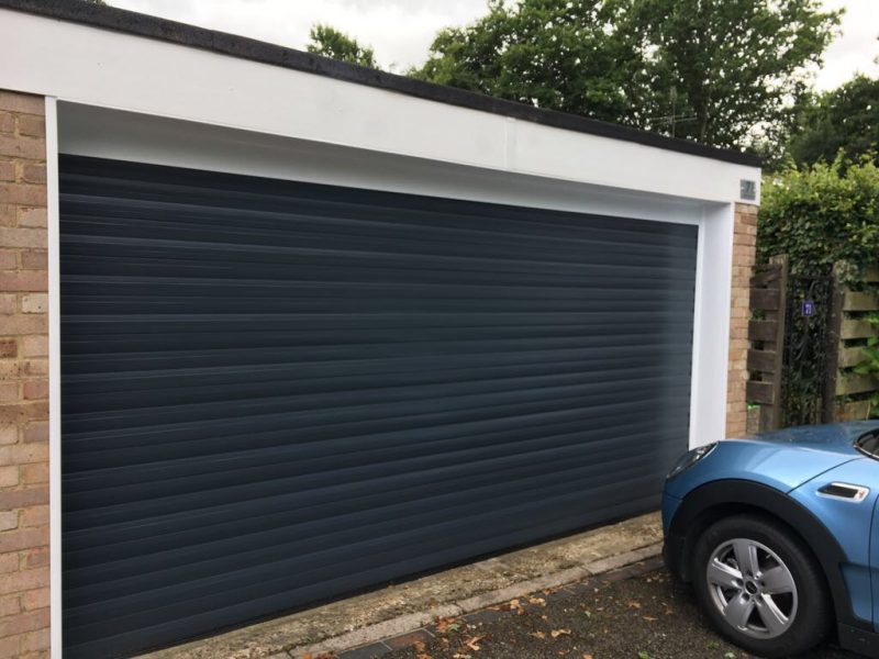 Double insulated shutter door for light usage