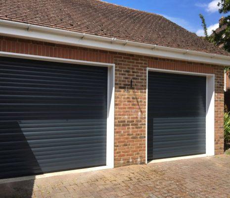 Insulated roller doors