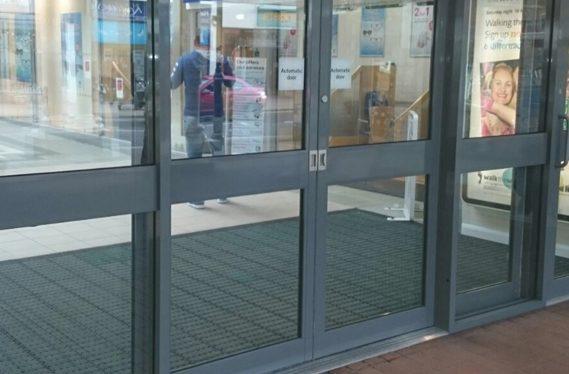 Aluminium Shopfront and Office Doors