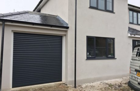 Insulated doors in various colours