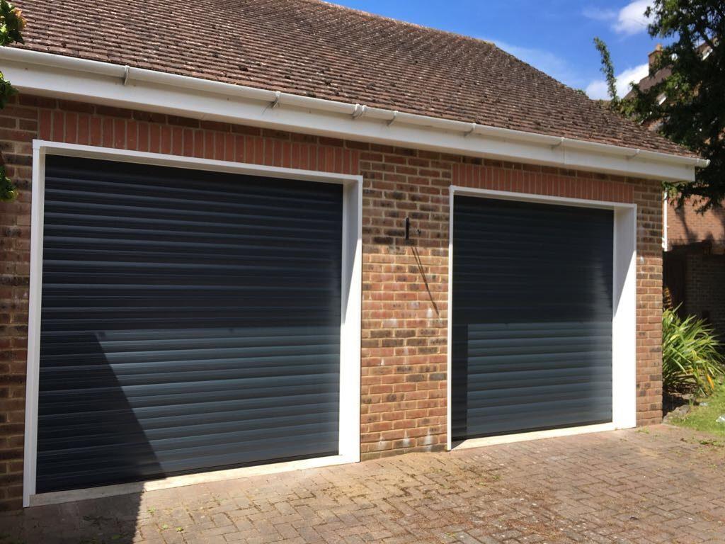 Insulated roller shutter doors